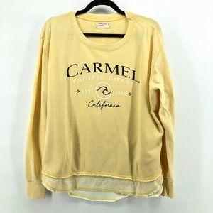 OCEAN DRIVE Carmel California Layered Sweatshirt